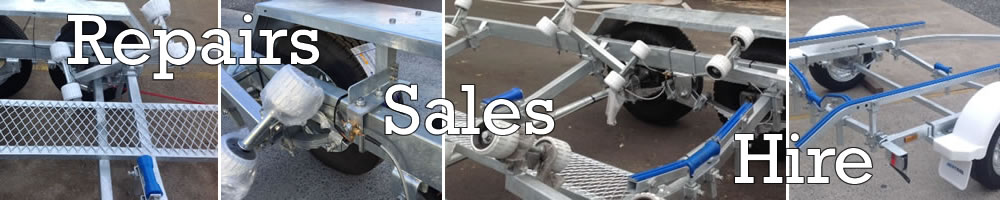 Boat trailer repairs, sales and hire in Brisbane and Hervey Bay
